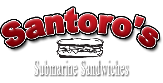 Santoros Submarine Sandwiches Burbank California Retina Logo