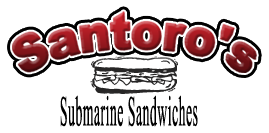 Santoros Submarine Sandwiches Burbank California Logo