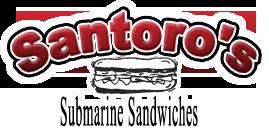 Santoros Submarine Sandwiches Burbank California Logo